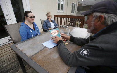 DASCH residents have a chance to say 'I love you' in person as we welcome back home visits.